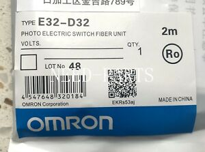 E32-D32 E32 D32 new Omron Photoelectric Switch Fiber Unit free shipping