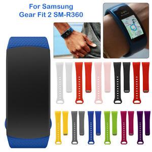 Pour-Samsung-Gear-Fit-2-SM-R360-Silicone-Remplacement-Bande-Bracelet-Poignet