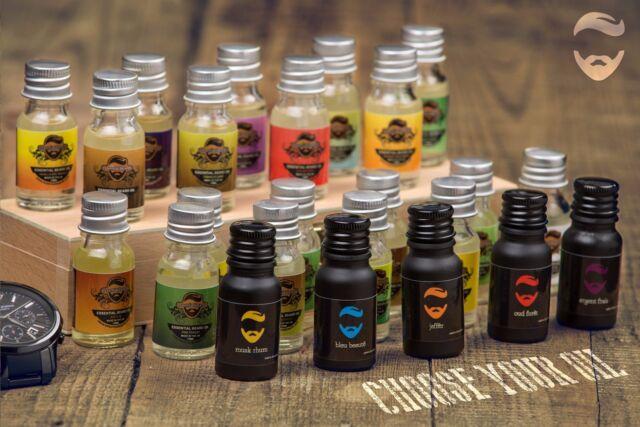 Essenziale Beards scegli la tua BARBA BARBA Olio nourisher 10ml Made in UK