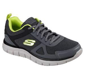 b6b1ab3263 Image is loading  Skechers-Hombre-Corte-Ancho-track-bucolo-Zapatillas-Deportivas-