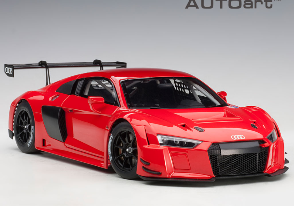 AUTOART 1 18I R8 LMS PLAIN Couleur VERSION (rouge) 81601