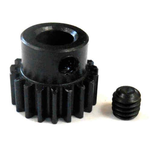 L619B Modul 0.6 0.6M 19T 19 Zähne Zahn Motorritzel Gang Schwarz 540 5mm Bohrung