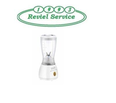 Frullatore con Bicchiere 600 ml Lame in Acciaio 250W PYRAMIDEA FR070