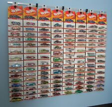 Diecast wall display NEW - Hot Wheels, Matchbox, Jada, Clamshell & Blister packs