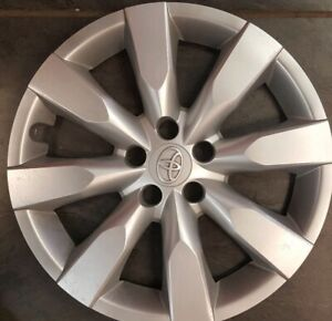 ONE-2014-15-2016-TOYOTA-COROLLA-16-WHEEL-COVERS-OEM-HUBCAPS-FACTORY-61172