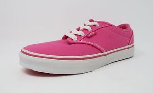 hieno tyyli parhaiten rakastettu ostaa halpaa Details about Vans Youth Shoes Atwood Pink Girl Sneakers #2480