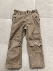 Baby-Boy-Gap-Beige-Brown-Pants-Size-4-Toddler-Thick-Cotton