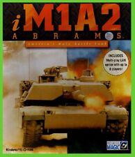 i M1A2 ABRAMS pc cd rom giochi tank carro CARTONATO big box libro