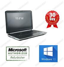 """Dell Latitude E5520 i5-2430M 2.4GHz 8G 128G SSD 15""""W W10P HDMI DVDRW Grade A-"""