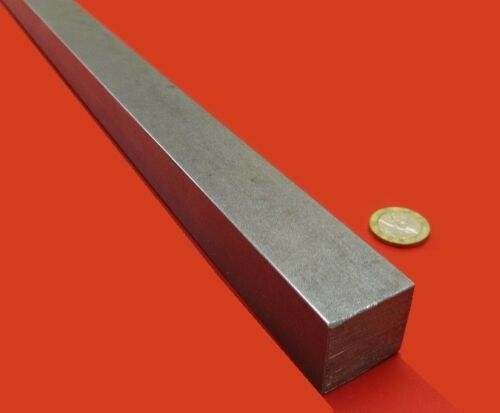 """1 1//8/"""" - 0.006/"""" x 1 1//8/"""" Wide x 36/"""" Length Square 4140//4142 Steel Bars"""