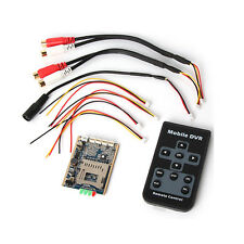Mini SD DVR PCB Board Up D1 30fps Support 32GB Digital Video/Audio Recorder