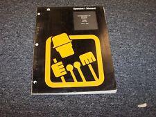 International Harvester S8-B Skidder Owner Operator Maintenance Manual Guide