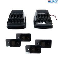 Euro Blackout LED Amber Turn Signal&Side Marker Lights for MB W463 G55/G500/G63
