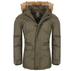 Details about Canadian Peak Anolite by geographical norway Men's Parka Winter Jacket Parker