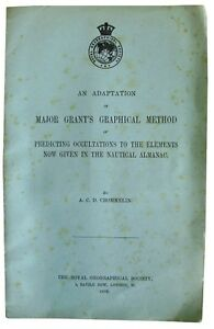 1902-CROMMELIN-Determination-of-LONGITUDE-AT-SEA-RARE-OFFPRINT