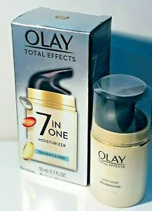 OLAY TOTAL EFFECTS 7IN 0NE FRAGRANCE FREE 1.7 OZ HYDRATES, VISIBLY FIRMS