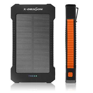 x dragon 20000mah powerbank solar ladeger t batterie akku. Black Bedroom Furniture Sets. Home Design Ideas