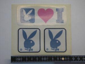 Details Zu Playboy Stickeraufkleber 80er Jahre 3x Bunny Car Sticker