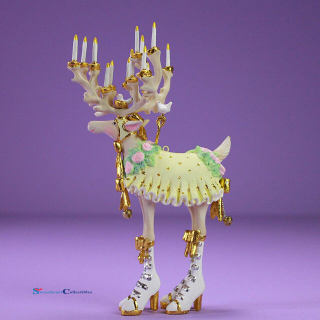 Patience Brewster H8 Moonbeam Christmas Mini Donna Reindeer Ornament 31241