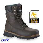 Texas Steer Men's Insulated Safety Work Boot Oil Resistant Slip Resistant PPE