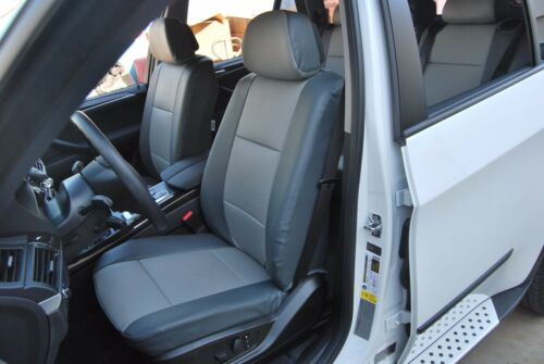 BMW X5 2003-2014 IGGEE S.LEATHER CUSTOM FIT SEAT COVER 13 COLORS AVAILABLE