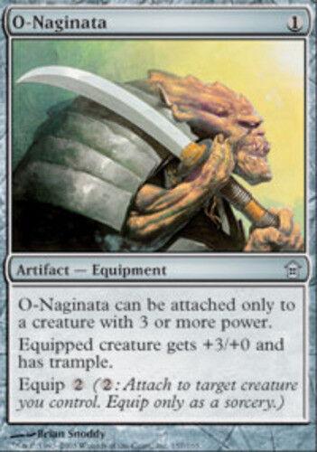 English Saviors of Kamigawa MTG Magic 1x O-Naginata NM-Mint