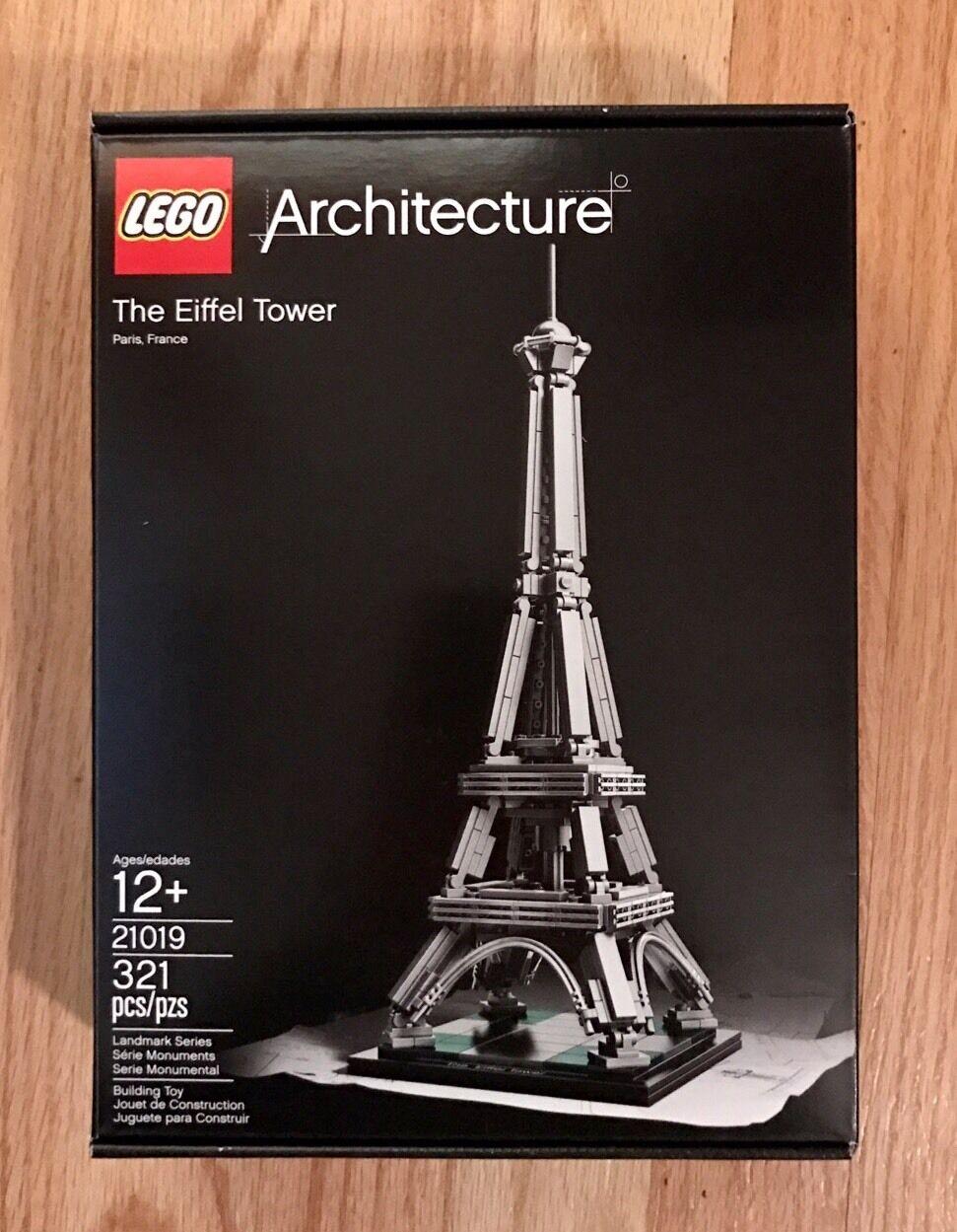 Lego Arquitectura 21019 la Torre Eiffel, París, Francia-difícil de encontrar nuevo en caja