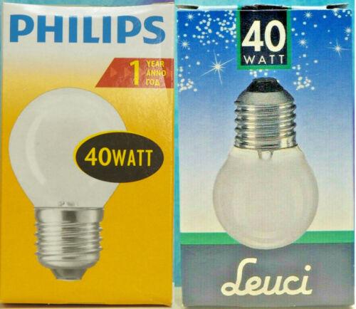 Matt 70x40mm NOS E27 Wähle aus! Glühbirne für Lavalampe: 40W//230V