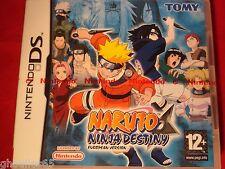 NARUTO NINJA DESTINY DS DS LITE DSI  NARUTO NINJA DESTINY 3DS NEUF