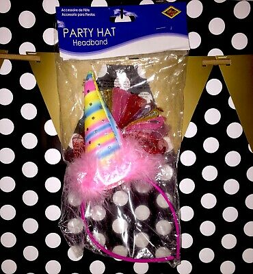 Beistle Party Hat Pink Set Of Two Ebay