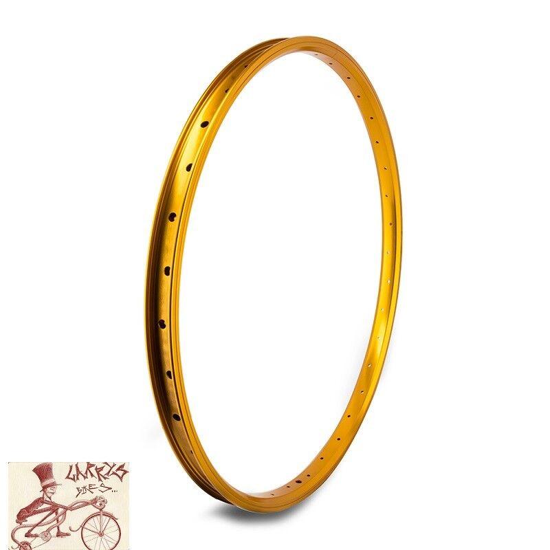 SE RACING BIKES J24SG  36H---26  x 1.75 gold BICYCLE RIM