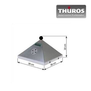 Barbecuehaube-o-Thermometer-BRH3535-Brathaube-fuer-Thueros-I-aus-Edelstahl-Haube