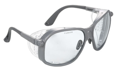 Univet 501 Laboratory Safety Glasses With Clear Lens Grey Frame 501.00.00.00