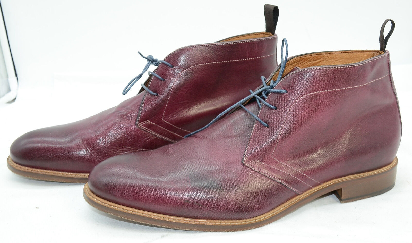 info for 01bd9 6718b CUOIO Mens Sz 12 M Leather Laced up Dress Casual CHUKKA Oxfords Casual BOOTS