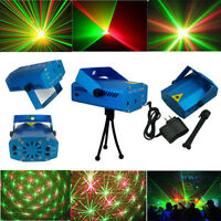 Mini Laser Disco/DJ Party Stage Lighting Light Patterns Projector