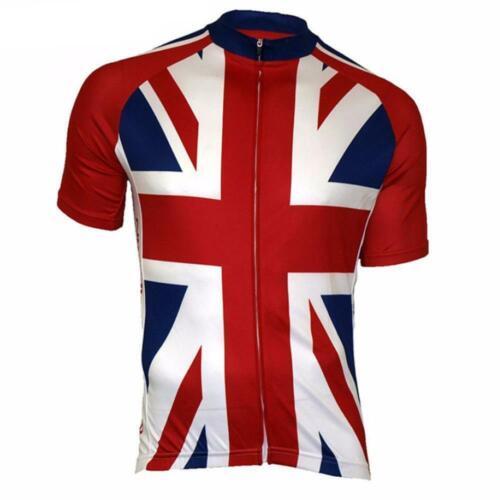 Union Jack UK Cycling Jersey