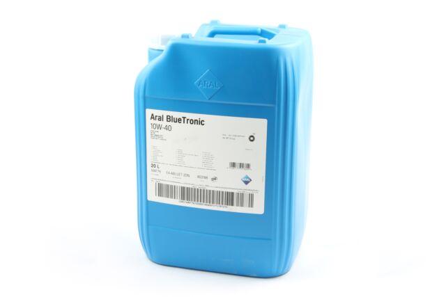 Aral Motoröl BlueTronic 20 Liter 10W40 VW 50101/50500 ACEA C3/B4 MB 229.1 API S