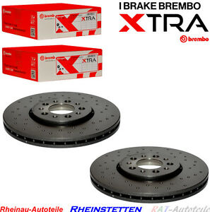 Brembo-XTRA-Sport-VA-288mm-2xBremsscheiben-VW-Bora-Golf-IV-Polo-New-Beetle