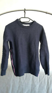 & And Other Stories Strickpullover Blau Xs 34 Pullover Wolle