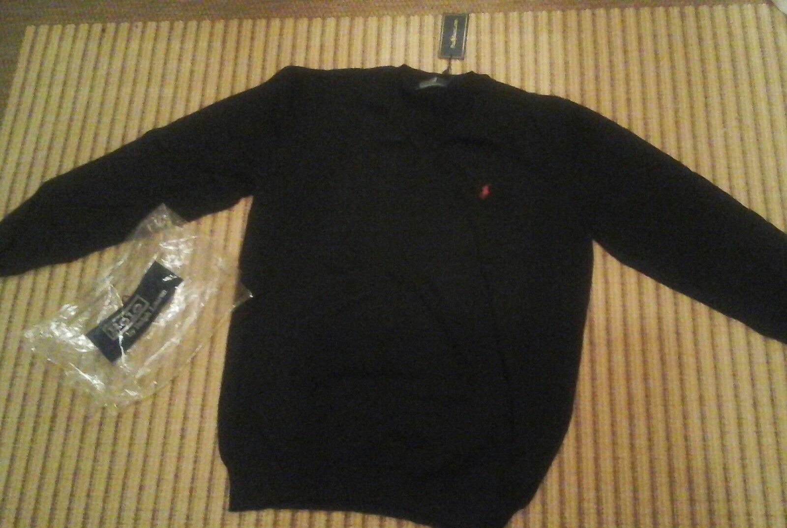 Pullover Herren schwarz Polo by Ralph Lauren Größe Größe Größe XXL   Spielzeugwelt, fröhlicher Ozean  53c4ef