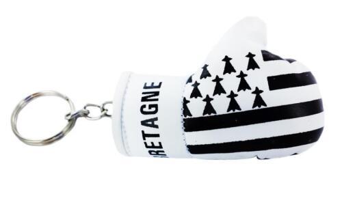 Porte clé clés clefs Drapeau BRETAGNE BRETONS BRETON  gant de boxe FLAG keychain