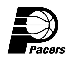 Indiana Pacers NBA Basketball Bumper Window Notebook Boat Sticker Decal