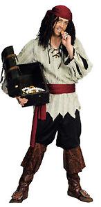 Pirat Piraten Kostüm Herren Seeräuber Freibeuter Piratenkostüm Lumpen Stulpen