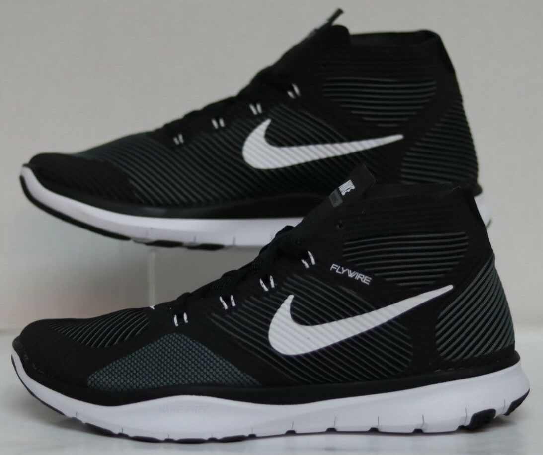 Nike Free Train Instinct Black White-Dark Grey 833274 010 Men Size's