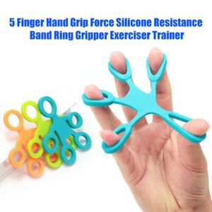 Finger Hand Exerciser Stärker Handgelenk Unterarm Griff Trainer Widerstandsband