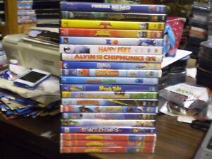 20 Children S Animal Dvd Lot Disney Finding Nemo Narnia Rio 2 Kung Fu Panda Ebay