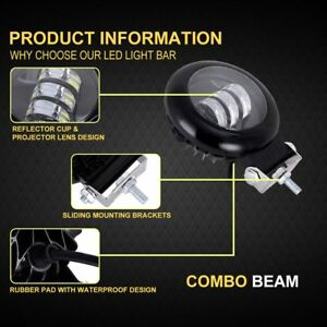 Combo-LED-Light-Work-Bar-Lamp-Driving-Fog-For-Off-road-SUV-4WD-Car-Boat-Truck