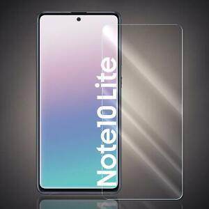 Panzer Folie für Samsung Galaxy Note 10 Lite Echt Glas Displayschutz Glas Folie