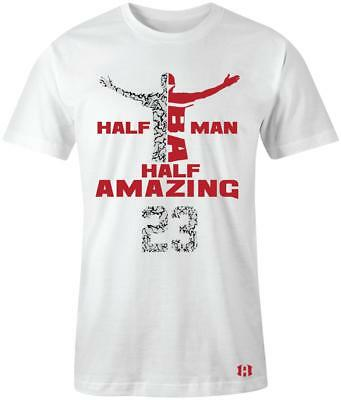 "/""Half Man Half Amazing Starz/"" Shield/"" T-Shirt to Match Retro /""Altitude/"" 13/'s"
