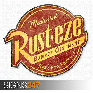 rusteze sticker distressed large 45cm vinyl car sticker jdm bomb rh ebay co uk rust eze logo sticker rust eze logo png
